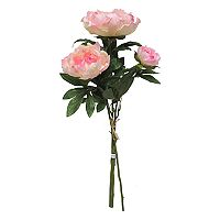 SONOMA Goods for Life™ 28 in Artificial Peony Stem Filler Decor