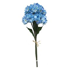 SONOMA Goods for Life™ 28 in Artificial Blue Hydrangea Stem Filler Decor