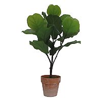 SONOMA Goods for Life™ Artificial Fiddle Fig Leaf Potted Plant