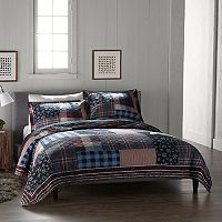 Cuddl Duds Lodge Pieced Quilt