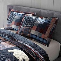 Cuddl Duds Lodge Pieced Sham
