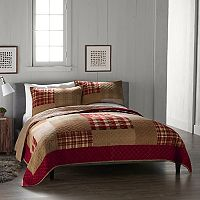 Cuddl Duds Cozy Soft Plaid Flannel Quilt