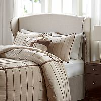 Madison Park Catalina Upholstered Wingback Headboard