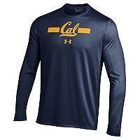 Men's Under Armour Cal Golden Bears Tech Long-Sleeve Tee