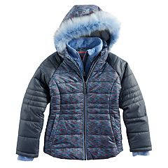 Girls 4-16 Free Country Boarder Heavyweight Jacket