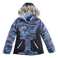 Girls 4-16 Free Country Digital Dash Heavyweight Jacket