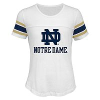 Girls 7-16 Notre Dame Fighting Irish Team Pride Burnout Tee