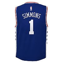 Boys 8-20 Philadelphia 76ers Ben Simmons Replica Road Jersey