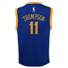 Boys 8-20 Golden State Warriors Klay Thompson Replica Road Jersey