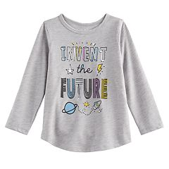 Toddler Girl Jumping Beans® 'Invent the Future' Graphic Tee