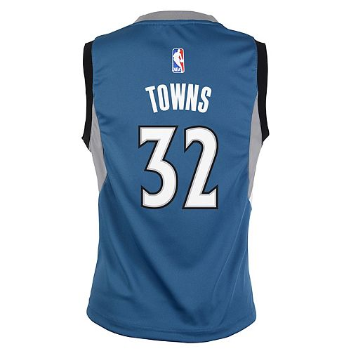 finest selection 54b06 4cd02 Boys 8-20 Minnesota Timberwolves Karl-Anthony Towns ...