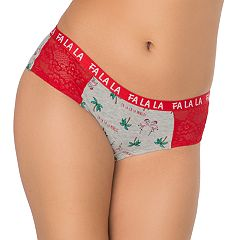 Juniors' SO® Lace Cheeky Panty
