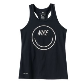 Girls 7-16 Nike Smiley Face Racerback Tank Top