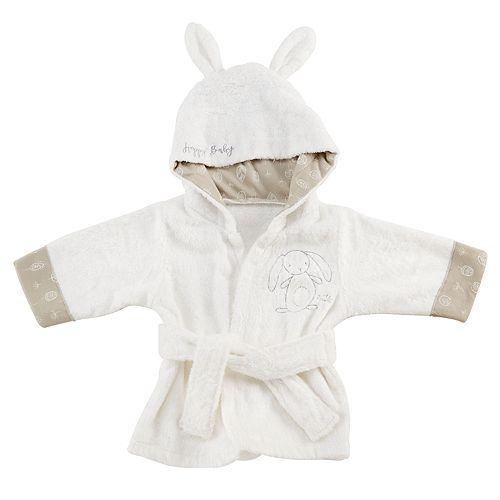 Baby Aspen Natural Baby Bunny Hooded Spa Robe