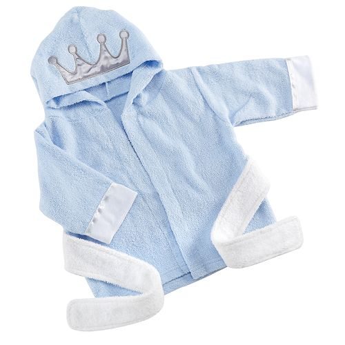 Baby Aspen Little Prince Hooded Spa Robe