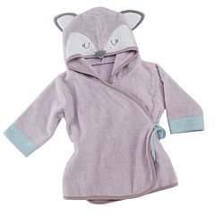 Baby Aspen Forest Friends Fancy Fox Hooded Spa Robe