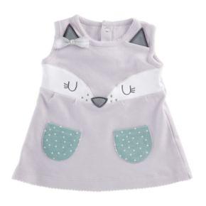 Baby Aspen Forest Friends Fancy Fox Dress