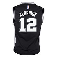 Boys 8-20 San Antonio Spurs LeMarcus Aldridge Replica Road Jersey