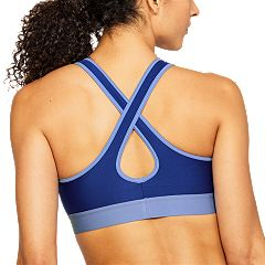 Under Armour Mid Crossback Met Medium-Impact Sports Bra 1309728