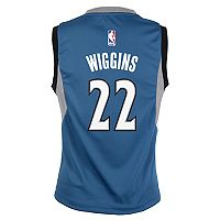 Boys 8-20 Minnesota Timberwolves Andrew Wiggins Replica Road Jersey