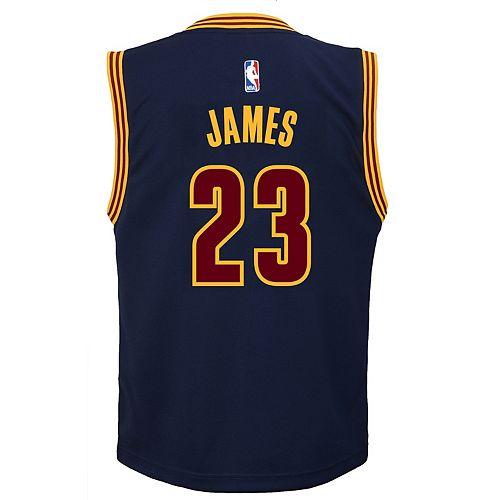 promo code 2606a 7b083 Boys 8-20 Cleveland Cavaliers LeBron James Replica ...