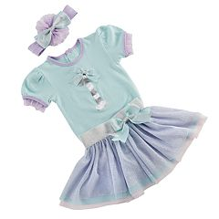 Baby Aspen My First Birthday 3 pc Party Outfit