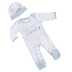 Baby Aspen Little Prince Pajama Gift Set