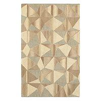 StyleHaven Indie Geometric Textures Wool Rug