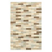 StyleHaven Indie Blockade Geometric Wool Rug