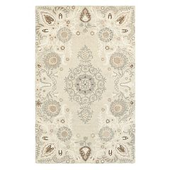 StyleHaven Cadence Floral Medallions Wool Rug