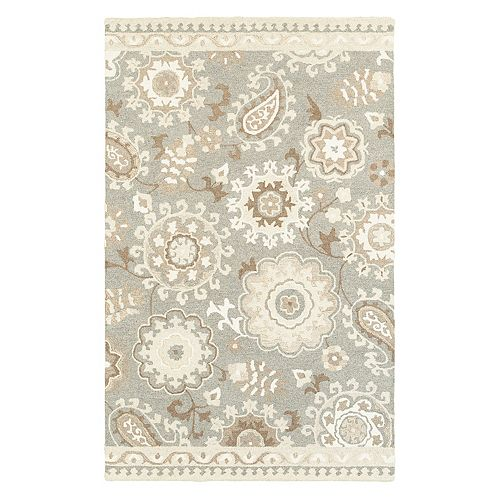 StyleHaven Cadence Gardens Floral Wool Rug
