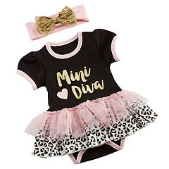Baby Aspen My First Fashionista Outfit & Headband Set