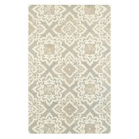 StyleHaven Cadence Floral Lattice Wool Rug