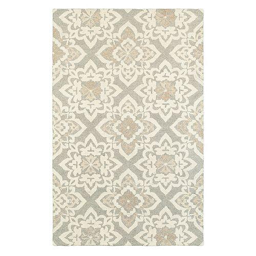 StyleHaven Cadence Floral Lattice Wool Rug