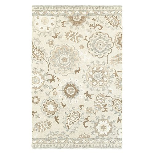 StyleHaven Cadence Paisley Garden Floral Wool Rug