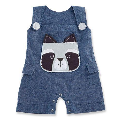 Baby Aspen Forest Friends Raccoon Romper