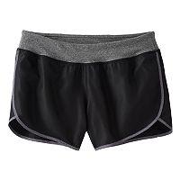 Girls 7-16 SO® Athletic Running Shorts