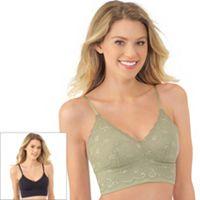 Lily of France Bras: Sensational 2-pack Lace Bralettes 2179106