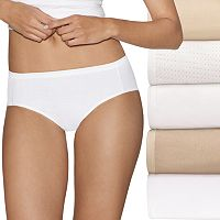 Hanes Ultimate 5-pk. Ultra Soft Cotton Comfort Hipster Panties 41HUCC