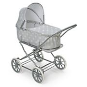Badger Basket Just Like Mommy Gray 3-in-1 Doll Stroller