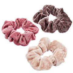 Mudd® Velvet Scrunchie Hair Tie Set