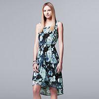 Women's Simply Vera Vera Wang Mesh High Low Dress