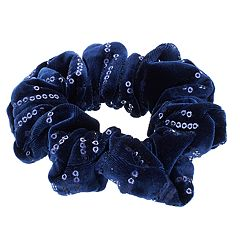 Mudd® Sequined Scrunchie Hair Tie