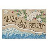 Liora Manne Frontporch ''Sandy & Bright'' Indoor Outdoor Rug