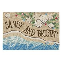 Trans Ocean Imports Liora Manne Frontporch ''Sandy & Bright'' Indoor Outdoor Rug