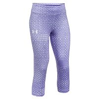 Girls 7-16 Under Armour HeatGear Printed Capri Leggings