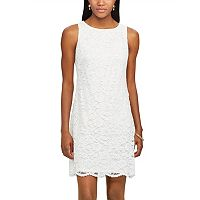 Women's Chaps Lace Shift Dress