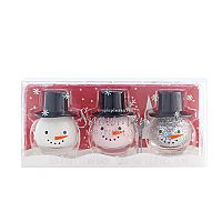 Simple Pleasures 3-pc. Snowman Nail Polish Set