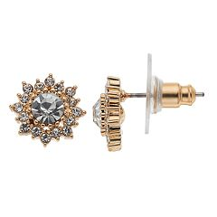 LC Lauren Conrad Starburst Halo Nickel Free Stud Earrings