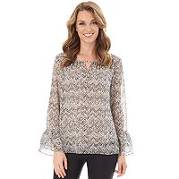 Women's Apt. 9® Tiered Ruffle Sleeve Top